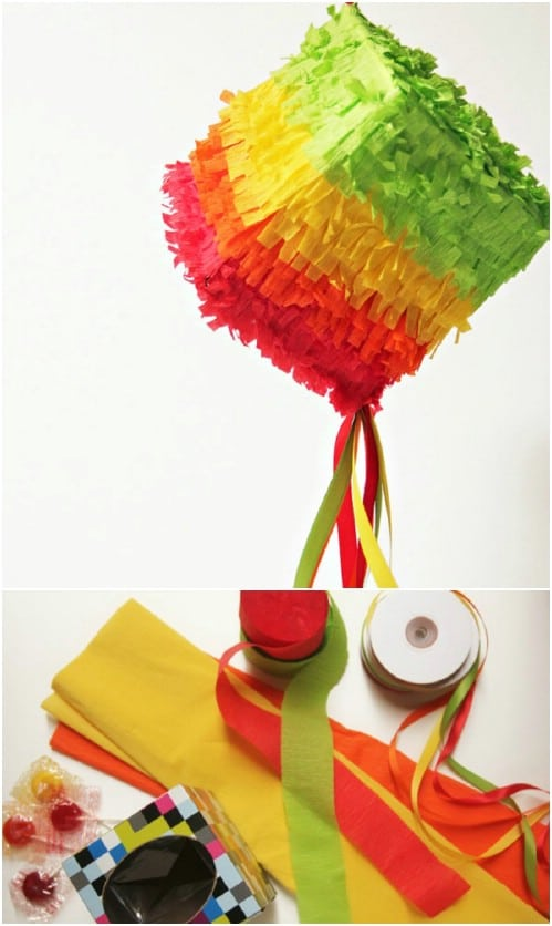 DIY Tissue Box Piñata