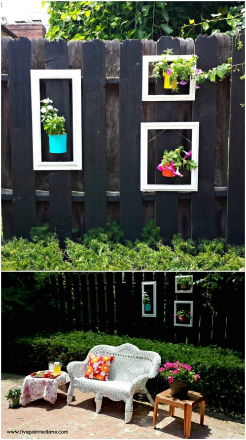 eye popping fence decorating ideas   instantly