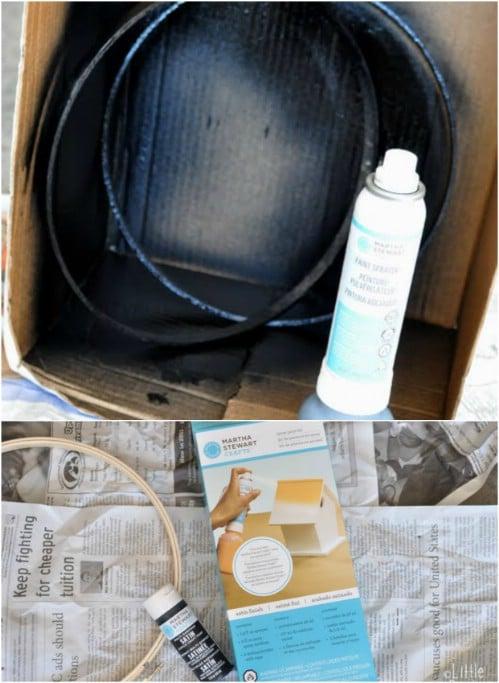 Turn Acrylic Paint Into Spray Paint