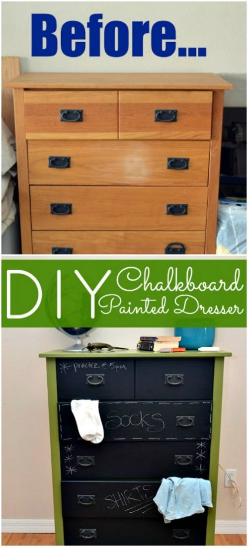 Don't forget about chalkboard paint.