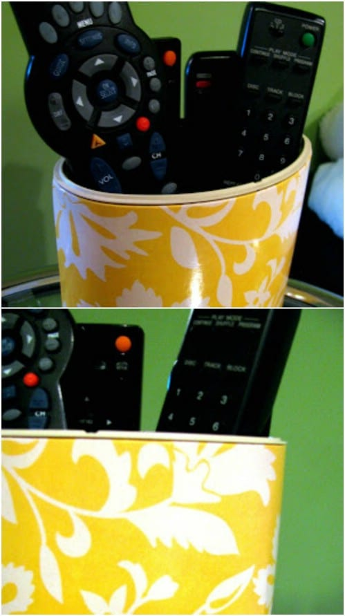 Living Room Remote Holder