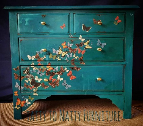 furniture makeover ideas. 25. Create A Vivid, Realistic Design With Beautiful Colors. Furniture Makeover Ideas D
