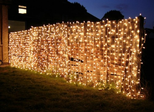 Outdoor Garden Curtain Lights