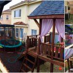 Ultimately Fun DIY Pinterest Inspired Backyard Transformation