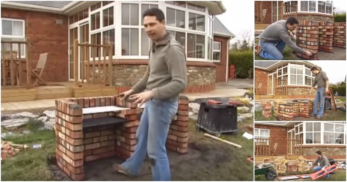 How To Build A Practical Brick Bbq In Your Backyard Diy