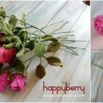How to Easily Create Gorgeous Crocheted Roses – Video Tutorial + Free Pattern