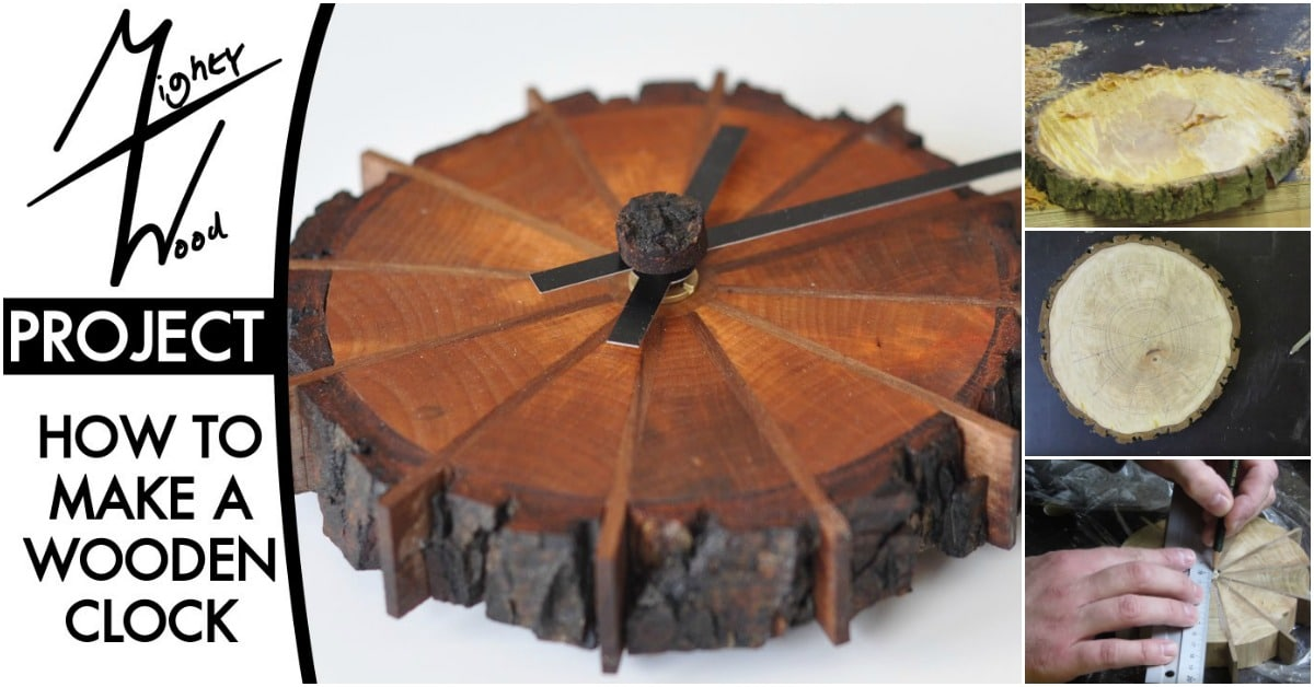 Gorgeously Rustic Project: How to Make This Nature Inspired Clock - DIY & Crafts