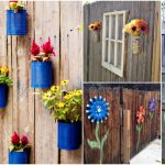30 Eye-Popping Fence Decorating Ideas That Will Instantly Dress Up Your Lawn