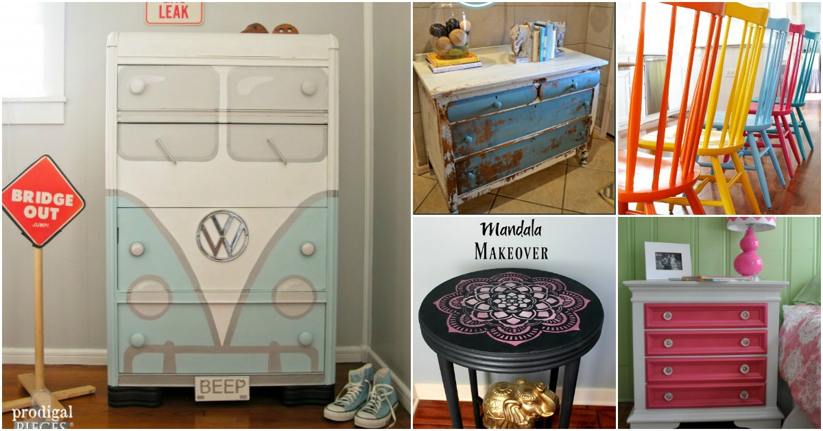 Ideas to paint furniture Diy Painting 25 Beautiful Furniture Makeover Ideas Using Paint Diy Crafts 25 Beautiful Furniture Makeover Ideas Using Paint Diy Crafts