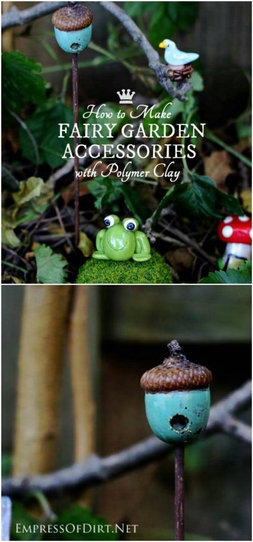 DIY Acorn Birdhouse