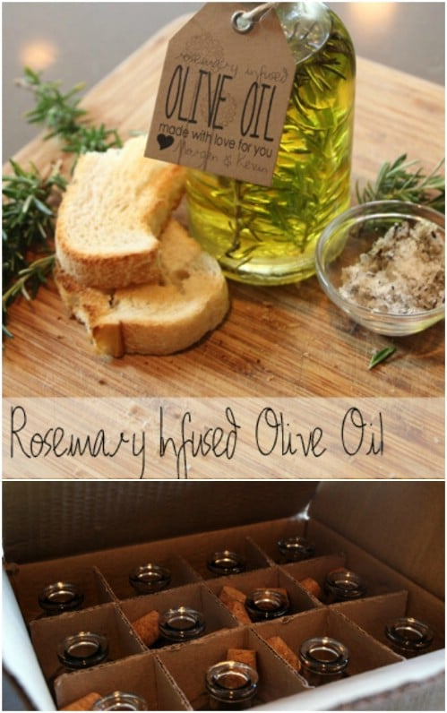 DIY Infused Oil Favors