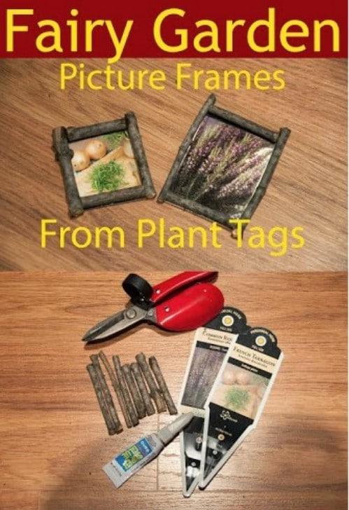DIY Fairy Garden Plant Tag Pictures