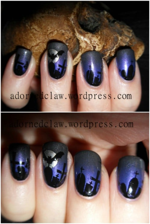 15 Creative Spooky Halloween Nail Art Ideas