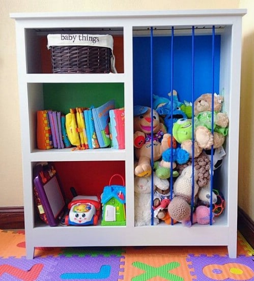 Easy DIY Toy Storage