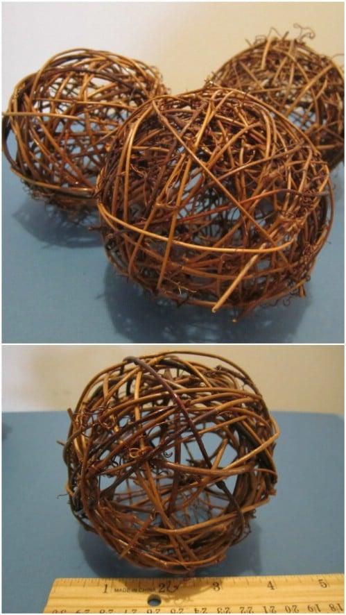 Decorative Twig Balls