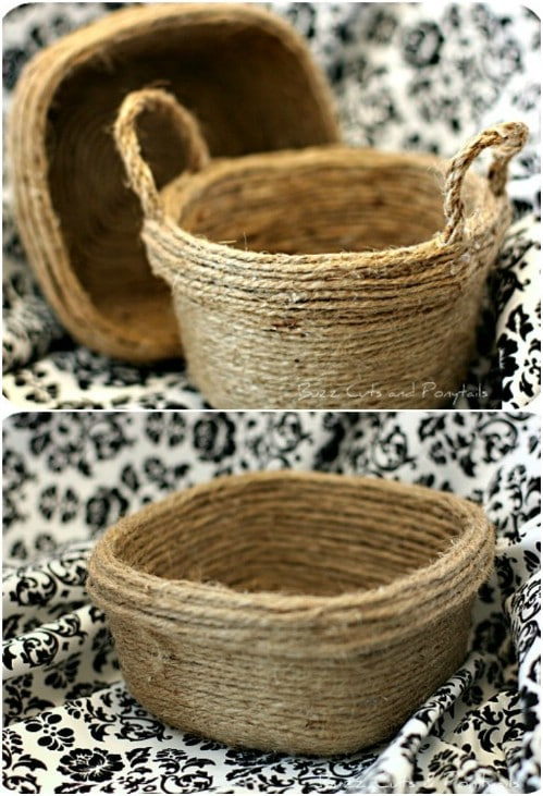 17 DIY Rustic Twine Projects - Style Motivation