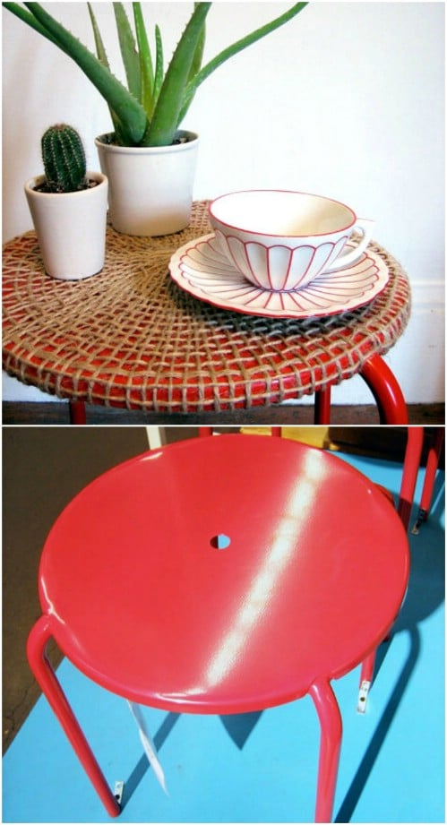 IKEA Hack – Woven Table