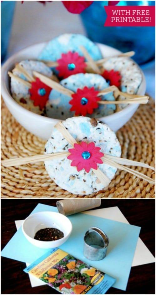 DIY Wildflower Seed Paper