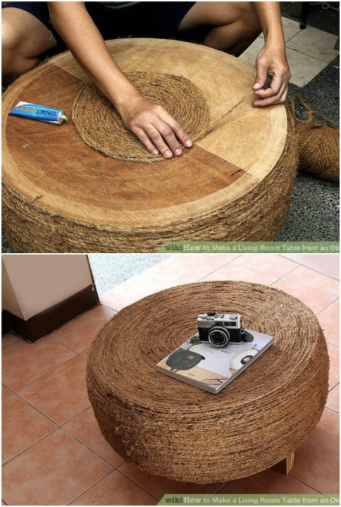 how to cut old tires
