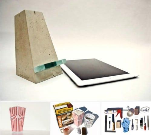 Concrete iPad Stand