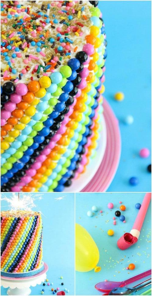 Easy To Make Confetti Cake
