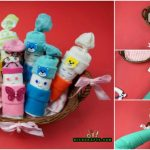 "How to Make an Adorable ""Diaper Baby"" Basket – Baby Shower Gift Idea"