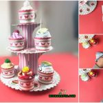 "How to Make Cute DIY Baby Shower ""Cupcakes"" Out of Baby Clothes"