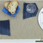 How to Make Drink Coasters Out of a Pair of Old Jeans