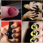 40 Frightening and Fun Halloween Nail Art Designs You Can Do Yourself