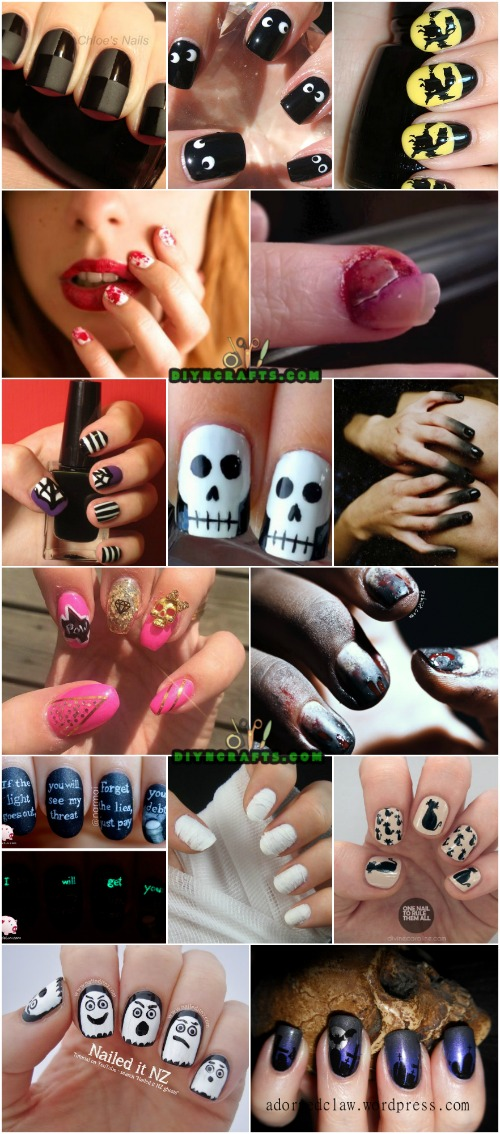 40 frightening and fun halloween nail art designs you can do 40 frightening and fun halloween nail art designs you can do yourself solutioingenieria Images