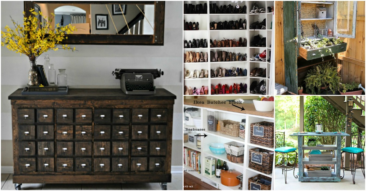 30 Genius Ideas For Repurposing Old Bookcases Into