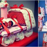 How to Make an Adorable Choo Choo Train Diaper Cake – Baby Shower Gift Idea