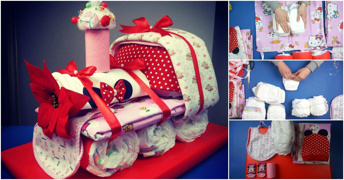 How To Make An Adorable Choo Choo Train Diaper Cake Baby