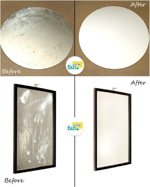 Easy DIY Mirror Restore