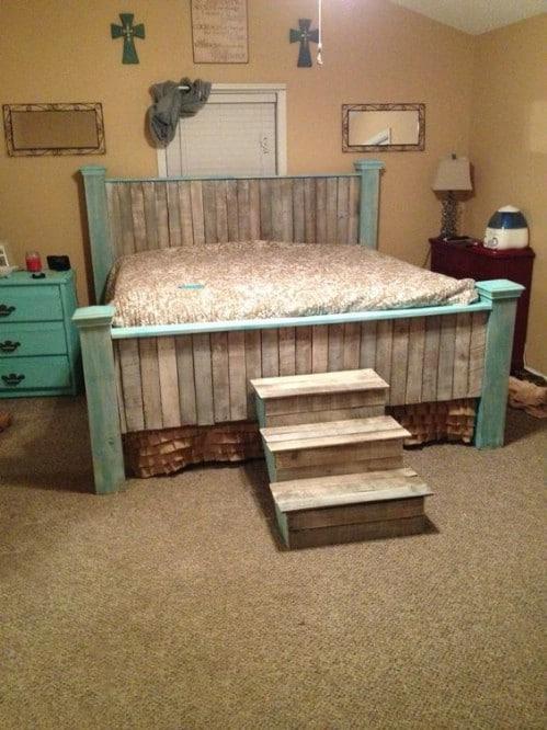 Farmhouse Queen Bed Frame Diy
