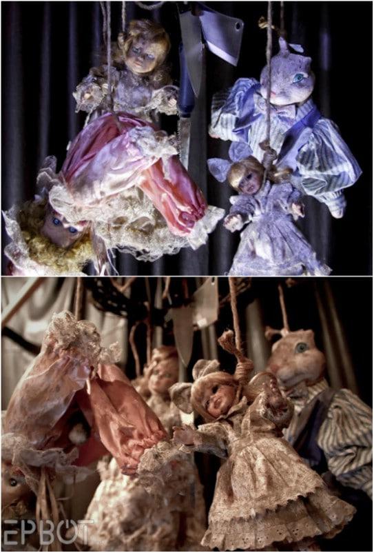 Creepy Doll Mobile