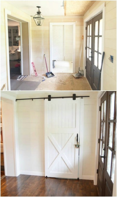 Another Lovely Simple Barn Door Project