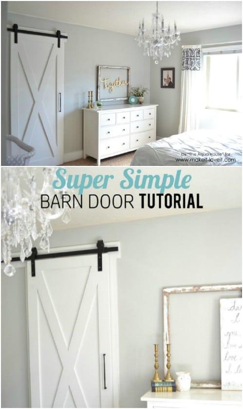Super Simple Barn Door