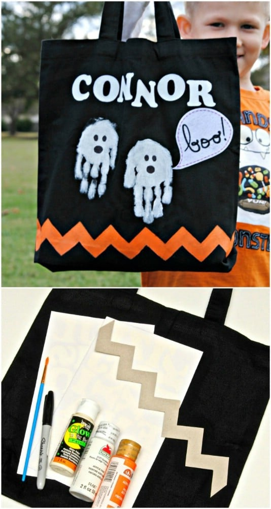 Trick or Treat: 15 Fun and Easy DIY Halloween Bag and Bucket Ideas