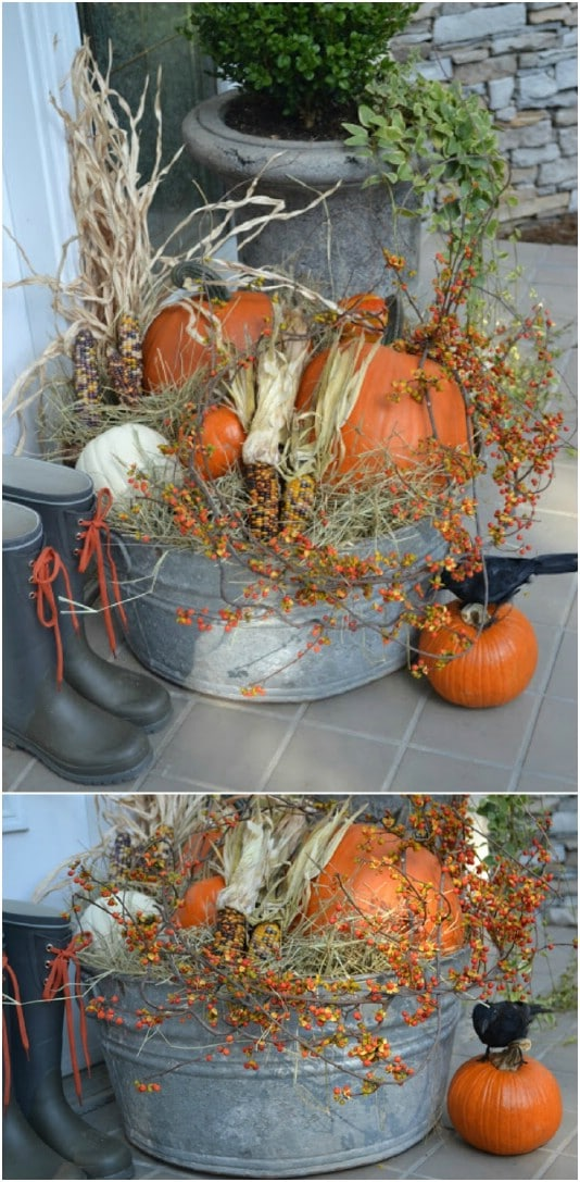 15 Diy Outdoor Fall Decor Projects For Your Garden Style