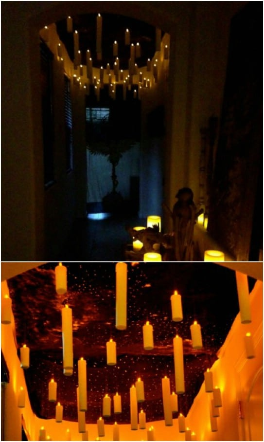 Harry Potter Inspired Floating Candles
