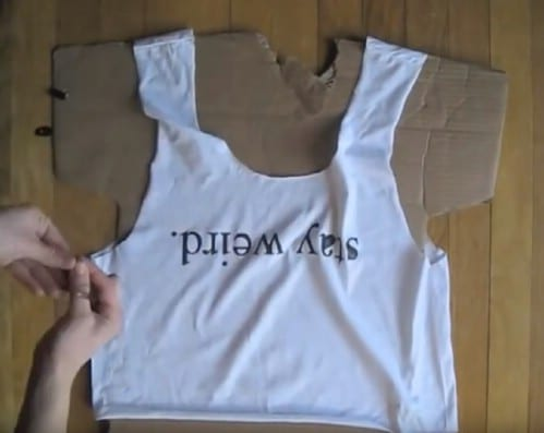 Make a Brandy Melville-inspired top.