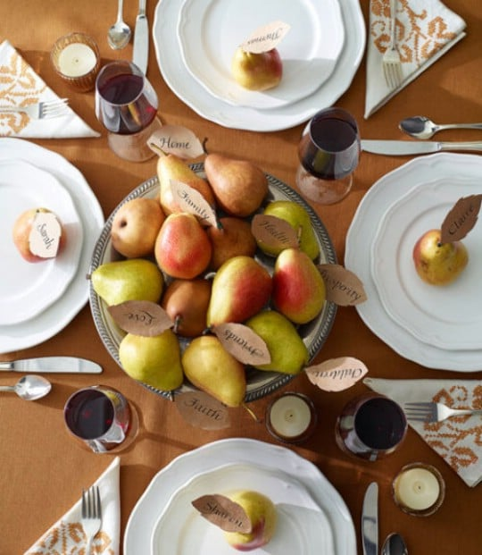 15 Totally Easy Last Minute DIY Thanksgiving Centerpiece