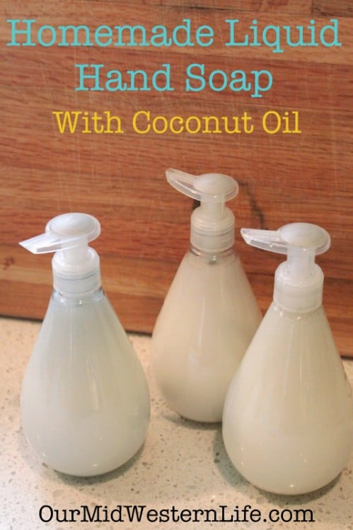 Homemade Conditioning Liquid Hand Soap
