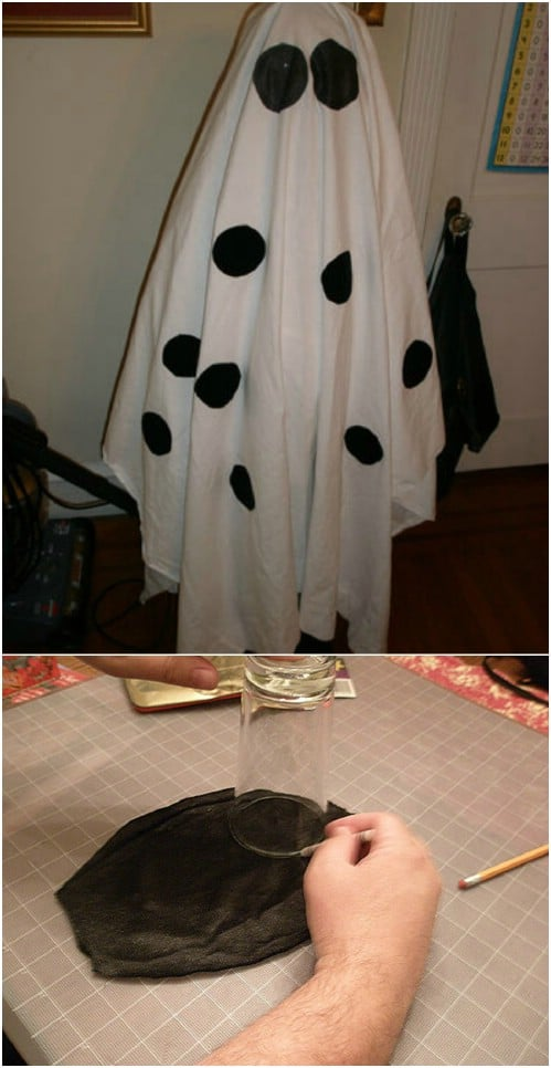 Classic Halloween Sheet Ghost