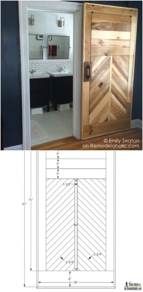 Farmhouse Design: 15 DIY Barn Door Projects
