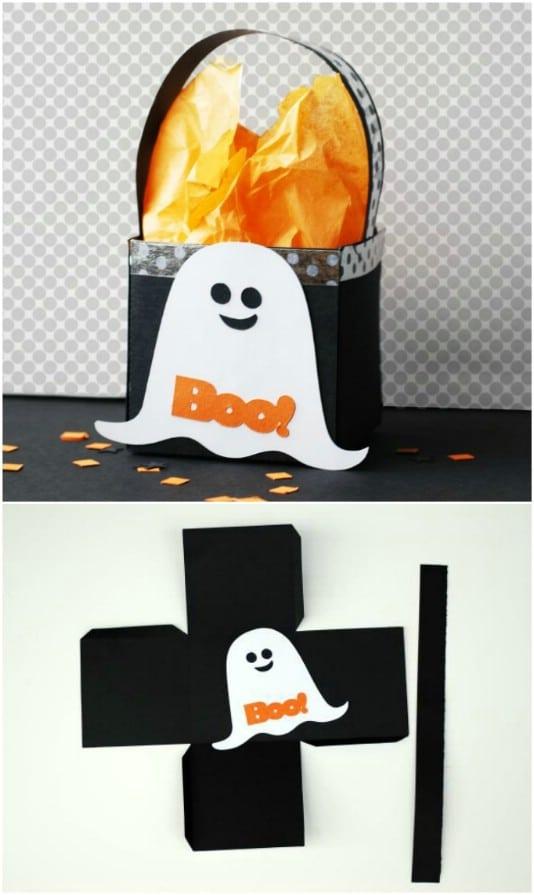 DIY Ghost Treat Box