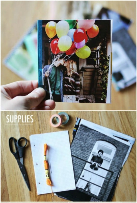 Diy Notebook Calendar : Clever calendar repurposing ideas that are creative and