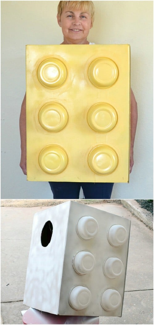 Quick And Easy DIY Lego Costume