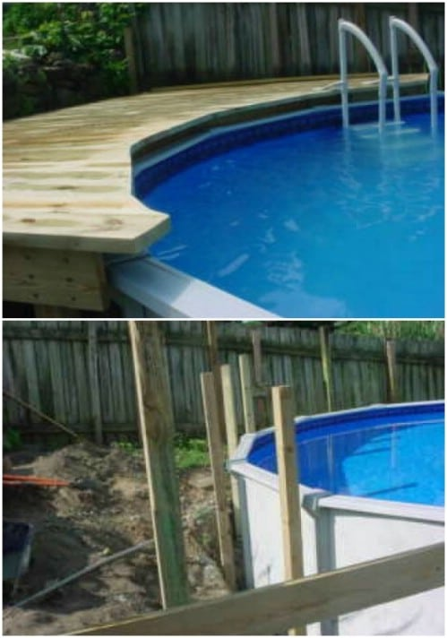 Build an Aboveground Pool Deck